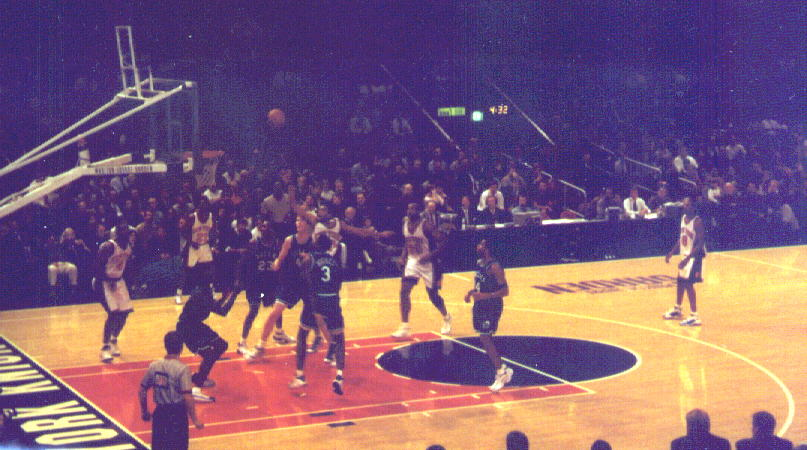 the knicks at madison square garden