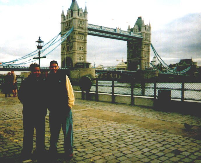tweedledee and chillbill in london town
