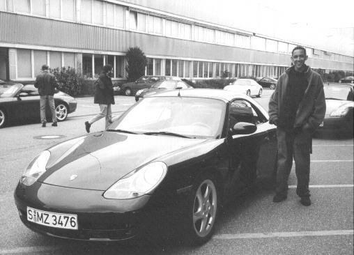 chillbill at Porsche in Ludwigsburg