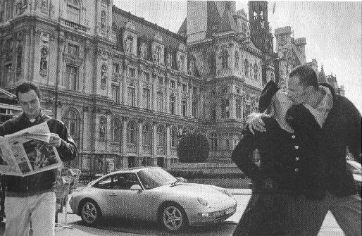 Homage to Robert Doisneau